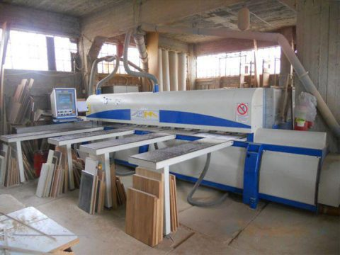 Wood processing machine Zampoukas