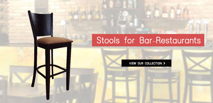 Professional Stools for cafe-bars, bars-restaurants from 17€