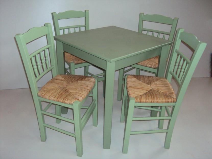 Τραπέζι Ξύλινο Παραδοσιακό Καφενείου Εστιατορίου Ταβέρνας Καφετέριας Cafe Bar (70Χ70) από 54€