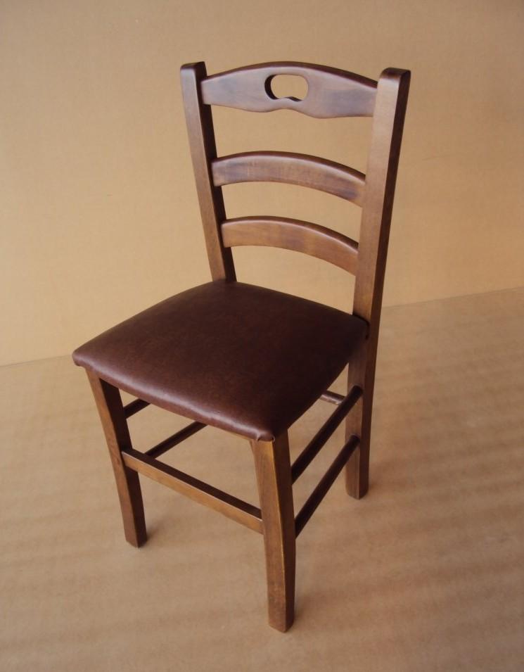 Η Επαγγελματική Παραδοσιακή Ξύλινη Καρέκλα Μήλος από 19€ ,Καρέκλα Καφενείου, Ταβέρνας, Εστιατορίου, Καφετέριας, Cafe Bar είναι κατασκευασμένη από Ελληνική Οξιά Ξηραντηρίου, size (42x38x87) .