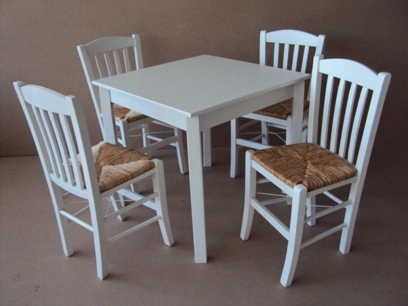 Τραπέζι Ξύλινο Παραδοσιακό (80Χ80) Καφενείου Εστιατορίου Ταβέρνας Καφετέριας Cafe Bar από 55€.