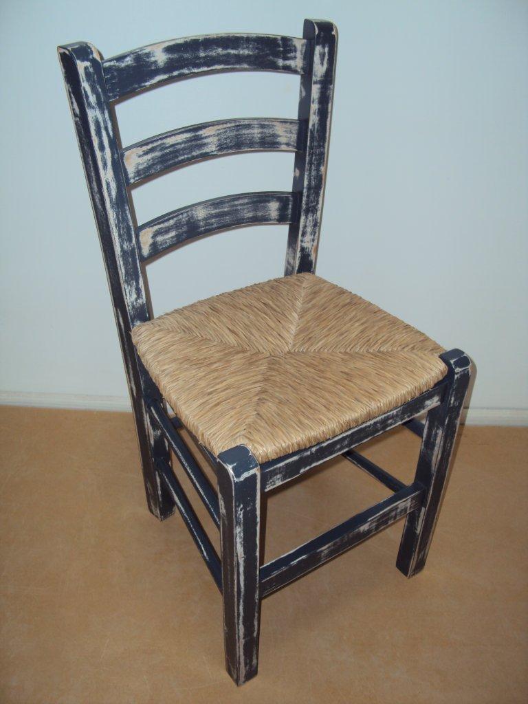 Καρέκλα Σίφνος Εστιατορίου Καφενείου Ταβέρνας Καφετέριας Cafe Bar (38Χ42Χ87), από 16€ Εμποτισμού με ψάθα από ξύλο οξιάς ξηραντηρίου.