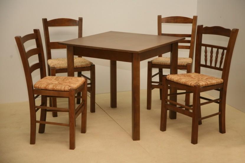 Τραπέζι Ξύλινο Παραδοσιακό Καφενείου Εστιατορίου Ταβέρνας Καφετέριας Cafe Bar (80Χ80) από 50€. Το τραπέζι διατίθεται σε όλες τις διαστάσεις και σε πολλά τα χρώματα.