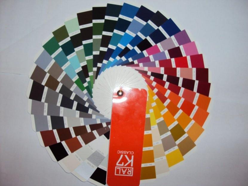 Χρωματολόγιο για Λάκες RAL