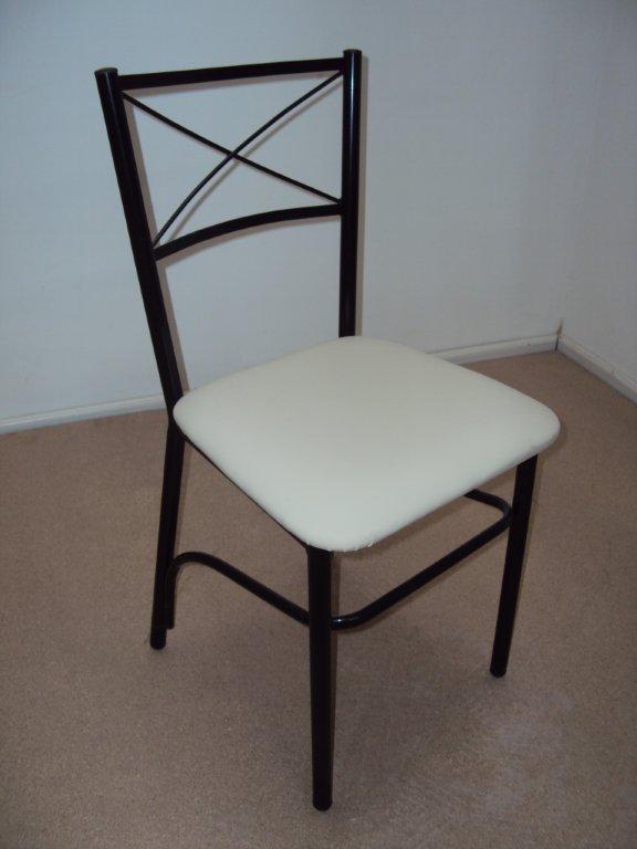Επαγγελματική Μεταλλική Καρέκλα με Χιαστή από 23€