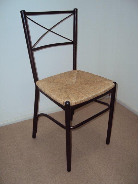 Επαγγελματική Μεταλλική Καρέκλα με Χιαστή από 22€