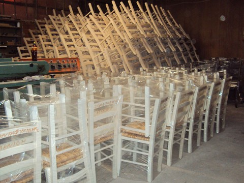 Ready for delivery chairs