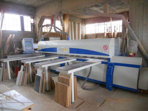 Wood processing machine Zampoukas