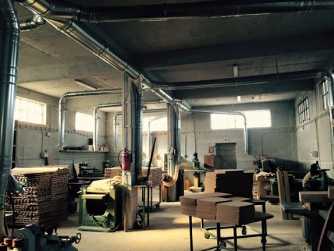 The production area of ZAMPOUKAS Chair Construction Factory