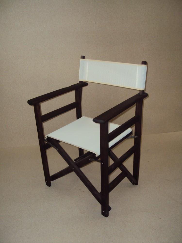 Επαγγελματική Καρέκλα Σκηνοθέτη (89x57x54) από 25€ με Διάτρητο PVC από μασίφ ξύλο οξιάς ξηραντηρίου Καφενείου Εστιατορίου Ταβέρνας Καφετέριας Cafe Bar .Η Επαγγελματική Ξύλινη Καρέκλα Σκηνοθέτη από μασίφ ξύλο οξιάς ξηραντηρίου, διατίθεται σε βαφές Εμποτισμού Λούστρο Παλαιώσης & Λάκες σε διάφορα χρώματα, διατίθεται με Πανιά Διάτρητα PVC και με Καραβόπανα σε όλα τα χρώματα. Η Επαγγελματική Ξύλινη Καρέκλα Σκηνοθέτη είναι από μασίφ ξύλο οξιάς ξηραντηρίου δικής μας κατασκευής με μεγάλες αντοχές κατάλληλη για Εξοπλισμούς Καταστημάτων Μαζικής Εστίασης όπως Eστιατόρια Kαφενεία Tαβέρνες Kαφετέριες Cafe Bar Oυζερί Mεζεδοπωλεία Tσιπουράδικα & άλλα.Η Επαγγελματική Ξύλινη Καρέκλα Σκηνοθέτη από μασίφ ξύλο οξιάς ξηραντηρίου διατίθεται σε βαφές Εμποτισμού Λούστρο Παλαιώσης & Λάκες σε διάφορα χρώματα, οι βαφές γίνονται με ηλεκτροστατική βαφή με Ιταλικά Βερνίκια. .Η Επαγγελματική Ξύλινη Καρέκλα Σκηνοθέτη από μασίφ ξύλο οξιάς ξηραντηρίου διατίθεται με Πανιά Διάτρητα PVC και με Καραβόπανα σε όλα τα χρώματα.