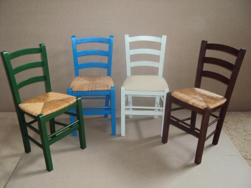 Επαγγελματική Παραδοσιακή Ξύλινη Καρέκλα Σίφνος Oυζερί Ταβέρνας Καφενείου Εστιατορίου Καφετέριας size (38Χ42Χ87) από 15,5€