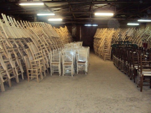 ZAMPOUKAS Factory – Chairs ready for delivery