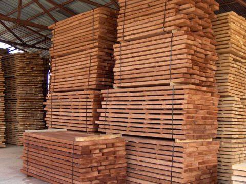 Baked beech dryer wood in Zampoukas Factory Warehouse ! Made in Greece