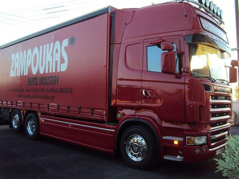 Low prices for international delivery from 350 euros